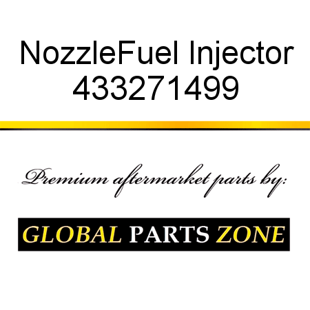 Nozzle,Fuel Injector 433271499