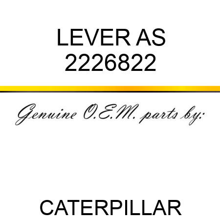 LEVER AS 2226822