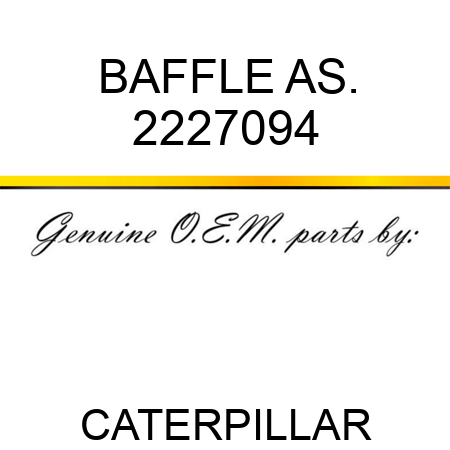BAFFLE AS. 2227094