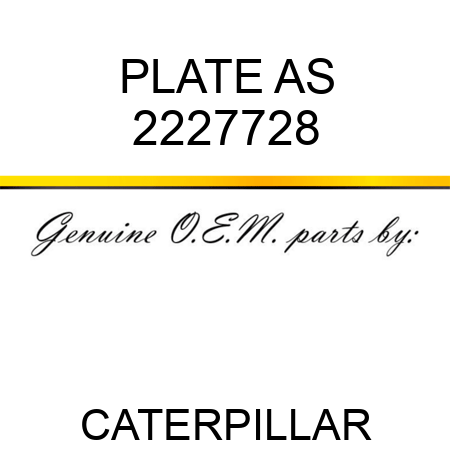 PLATE AS 2227728