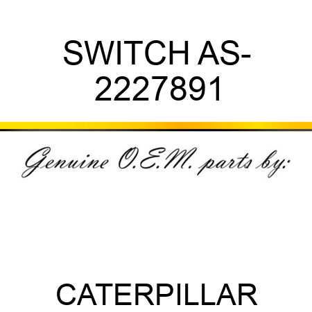 SWITCH AS- 2227891