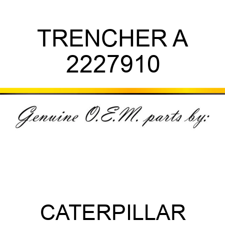 TRENCHER A 2227910