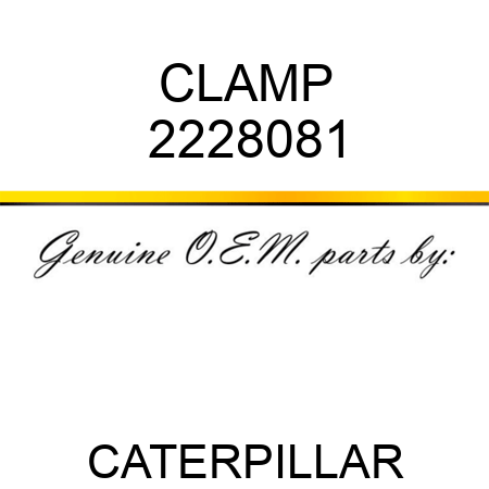 CLAMP 2228081