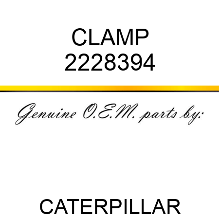 CLAMP 2228394