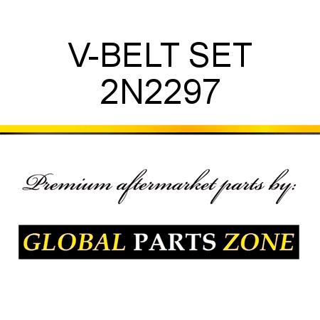 CAT V-BELT SET  fit CATERPILLAR 2N2297