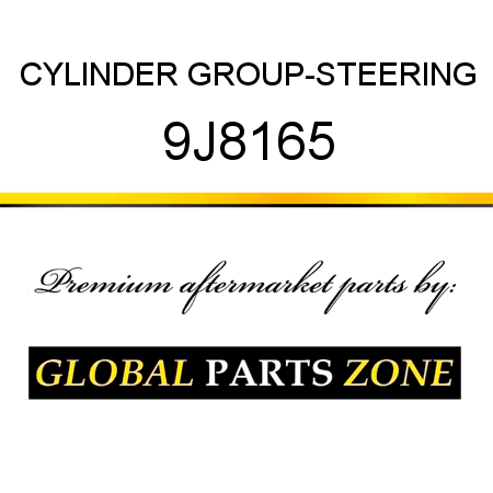 CYLINDER GROUP-STEERING 9J8165