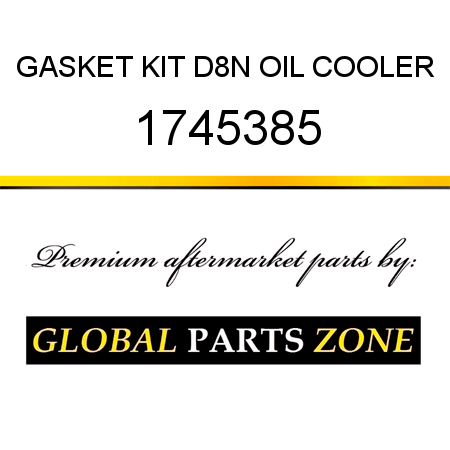 GASKET KIT D8N OIL COOLER 1745385