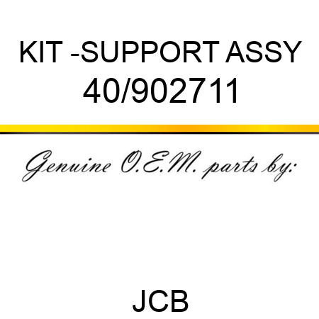 KIT -SUPPORT ASSY 40/902711