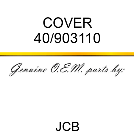 COVER 40/903110