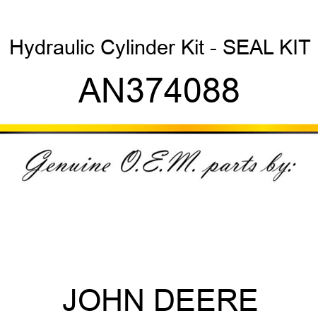 Hydraulic Cylinder Kit - SEAL KIT AN374088