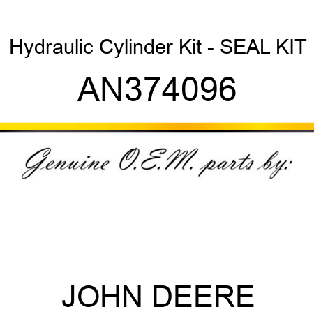 Hydraulic Cylinder Kit - SEAL KIT AN374096