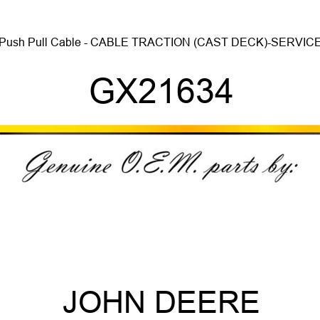 John Deere Genuine GX21634 Push Pull Cable