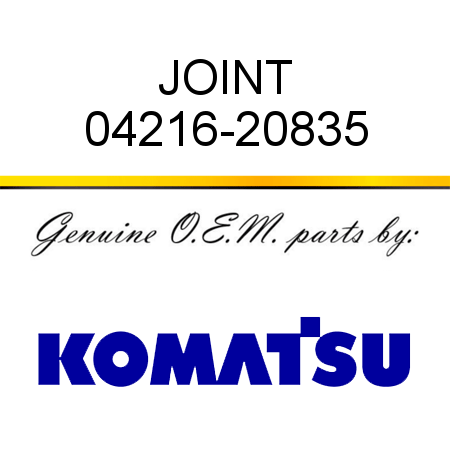 JOINT 04216-20835