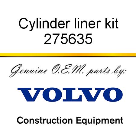 Volvo 275635 Cylinder Liner Kit for EC620
