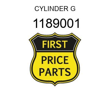 CYLINDER G 1189001