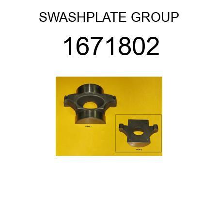 1671802 SWASH PLATE fit CATERPILLAR 3116, 3126, 3126B, 3306