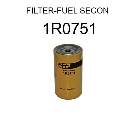 FILTER-FUEL SECONDARY FIL 1R0751