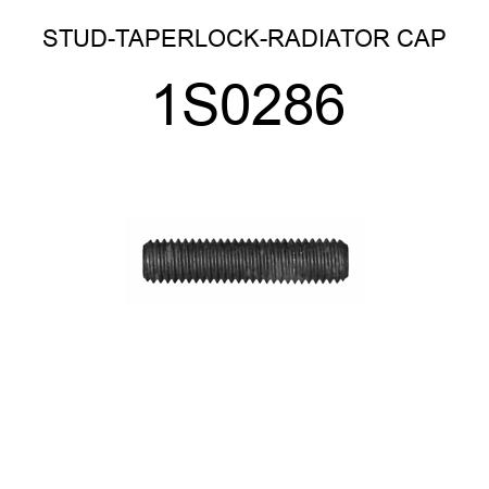 STUD-TAPERLOCK-RADIATOR CAP 1S0286