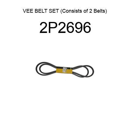 D/&D PowerDrive A-B43K made with Kevlar V Belt