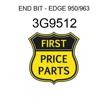 END BIT - EDGE 950/963 3G9512