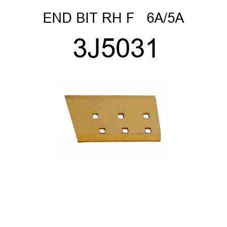 END BIT RH F   6A/5A 3J5031