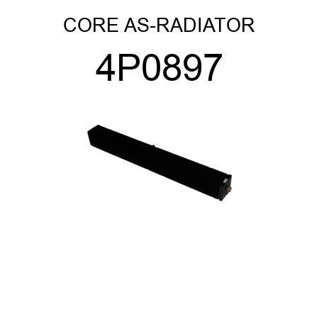 CORE AS-RADIATOR 4P0897