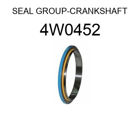 SEAL GROUP-CRANKSHAFT 4W0452