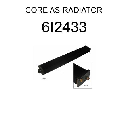 CORE AS-RADIATOR 6I2433