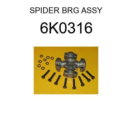 6K0316 CAT SPIDER BRG ASSY 5V1168 fits Caterpillar