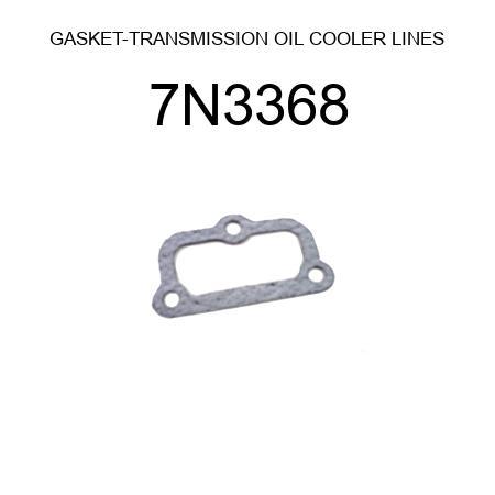 7N3368 GASKET-TRANSMISSION OIL COOLER LINES fit CATERPILLAR 3508