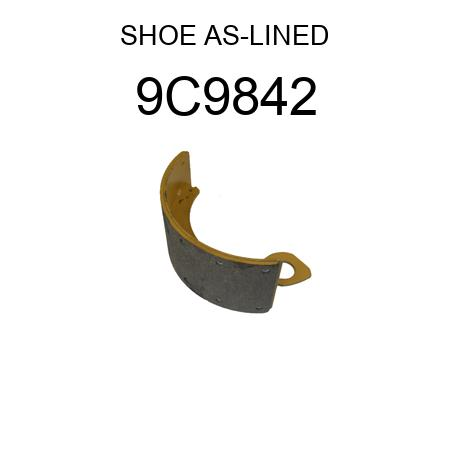 SHOE AS-LINED 2839992 5S8542 6W7283 for Caterpillar 9C9842 CAT
