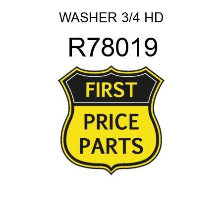 WASHER 3/4 HD R78019