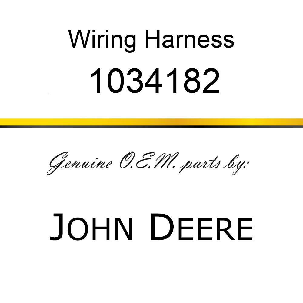 Wiring Harness - HARNESSWIRE 1034182