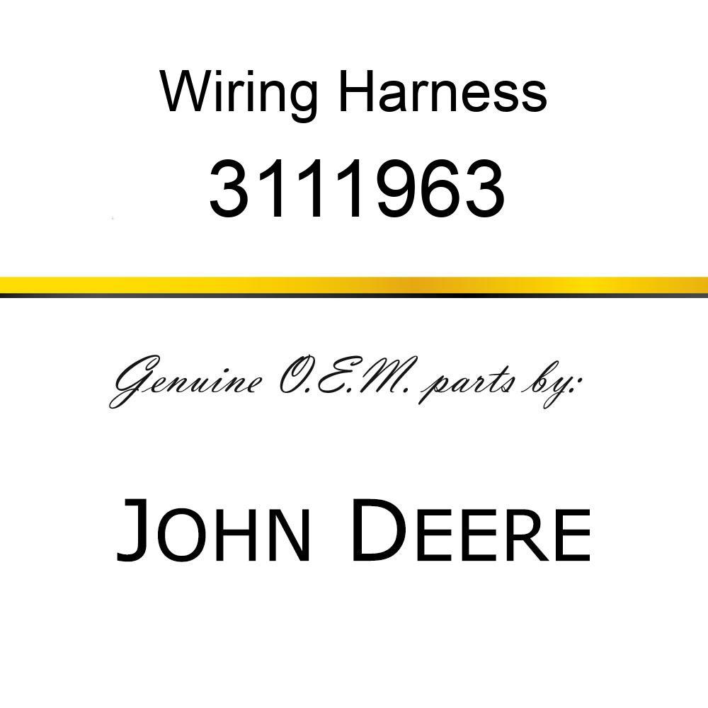 Wiring Harness - HARNESSWIRE 3111963