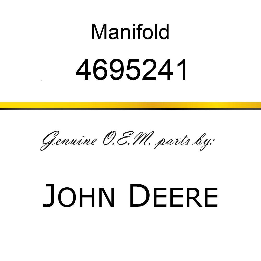 Manifold - ROTARY MAN. (JOINT CENTER) 4695241
