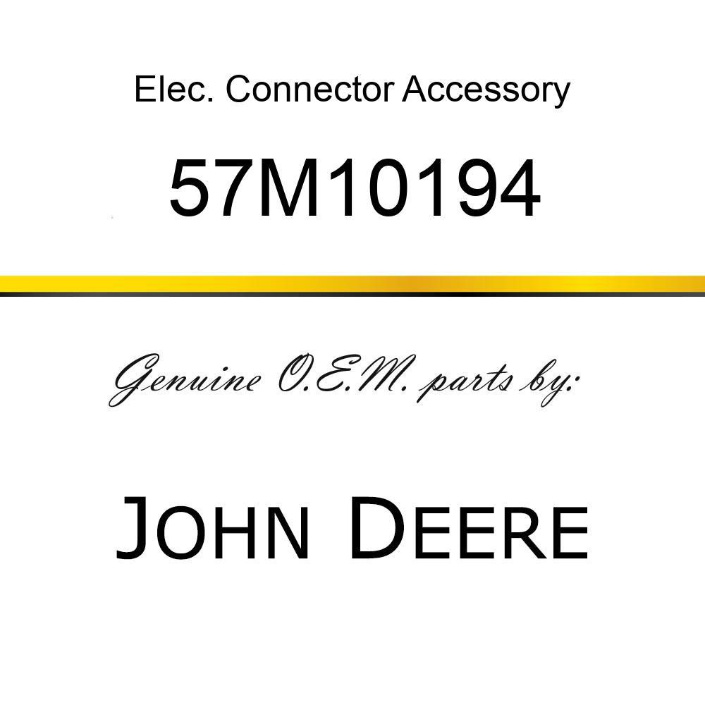 Elec. Connector Accessory - SCHLEMMER T-MANIFOLD BLACK PLSTC 57M10194