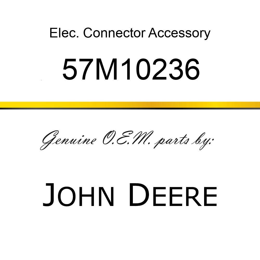 Elec. Connector Accessory - SCHLEMMER T-MANIFOLD BLACK PLSTC 57M10236
