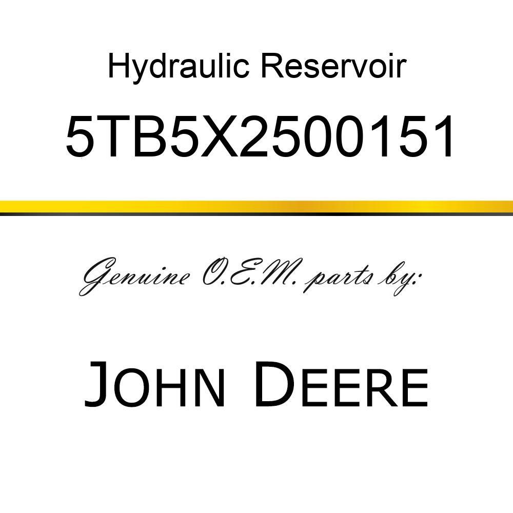 Hydraulic Reservoir - HYDRAULIC OIL TANK 5TB5X2500151