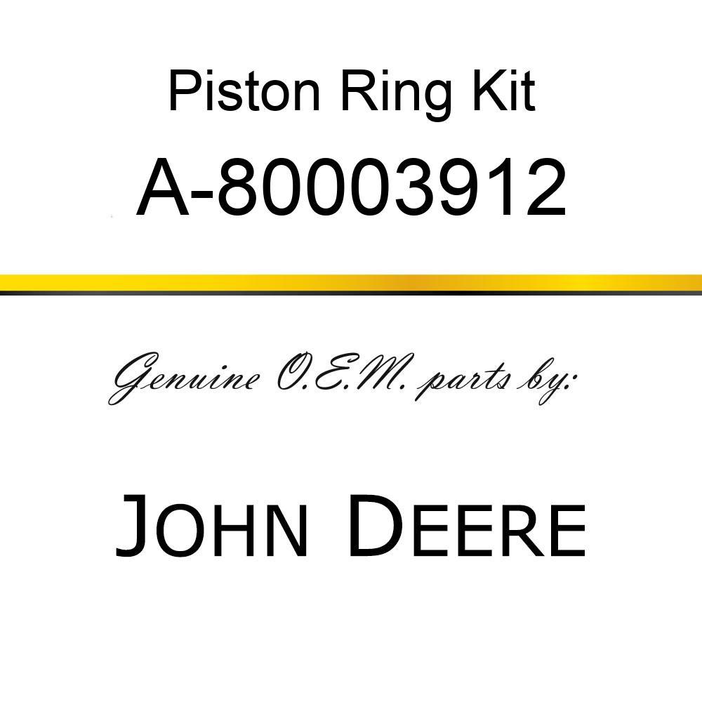 Piston Ring Kit - RING SET A-80003912