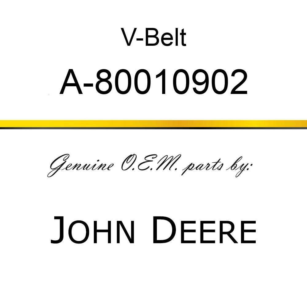 V-Belt - AUTOMOTIVE WEDGE BELT A-80010902