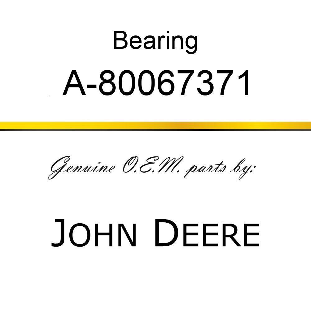 Bearing - BEARING A-80067371