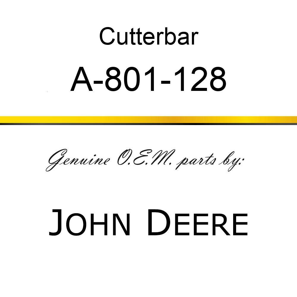 Cutterbar - SICKEL ASSY A-801-128