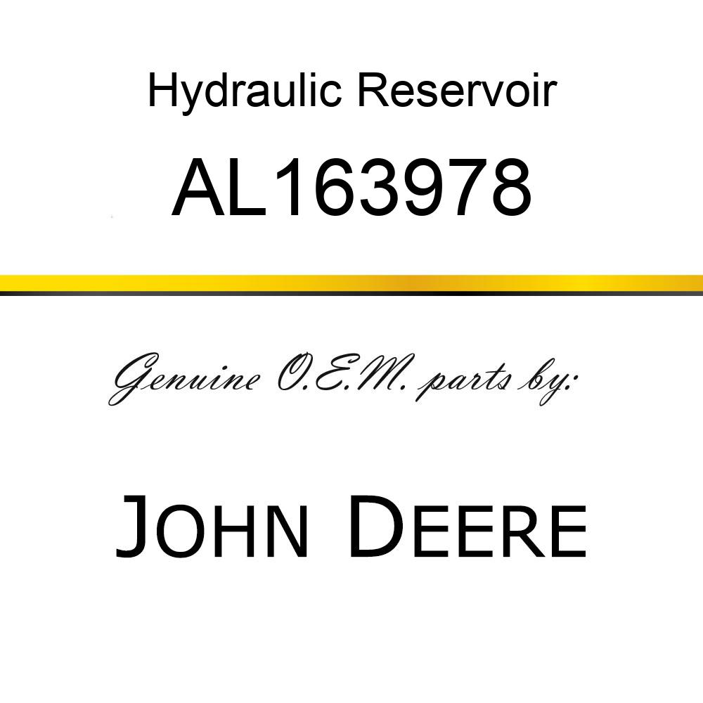 Hydraulic Reservoir - HYDRAULIC RESERVOIR, HYD.OIL RESERV AL163978
