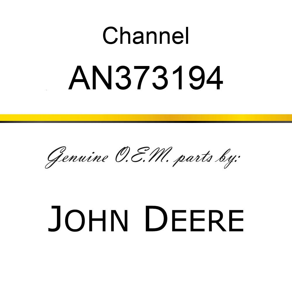 Channel - CHANNEL ASSY., FEEDER DRIVE AN373194