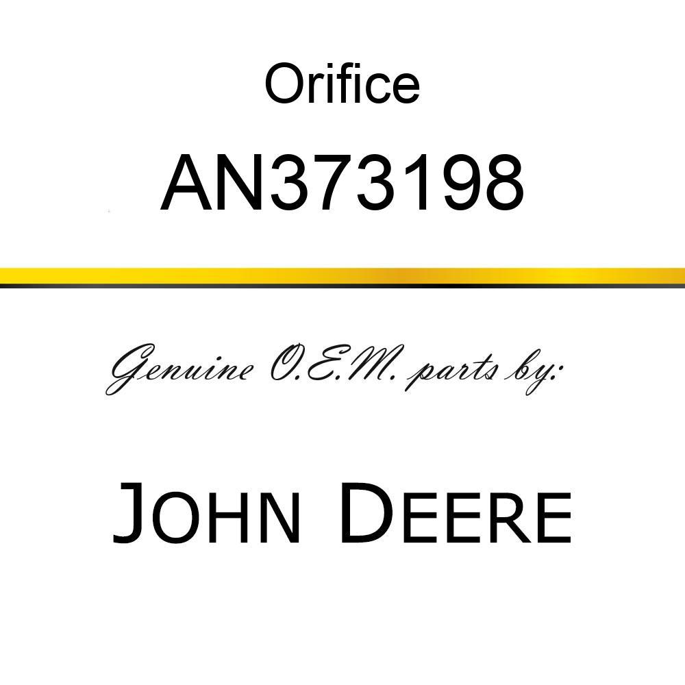 Orifice - ORIFICE KIT-CONTROL(.040) AN373198