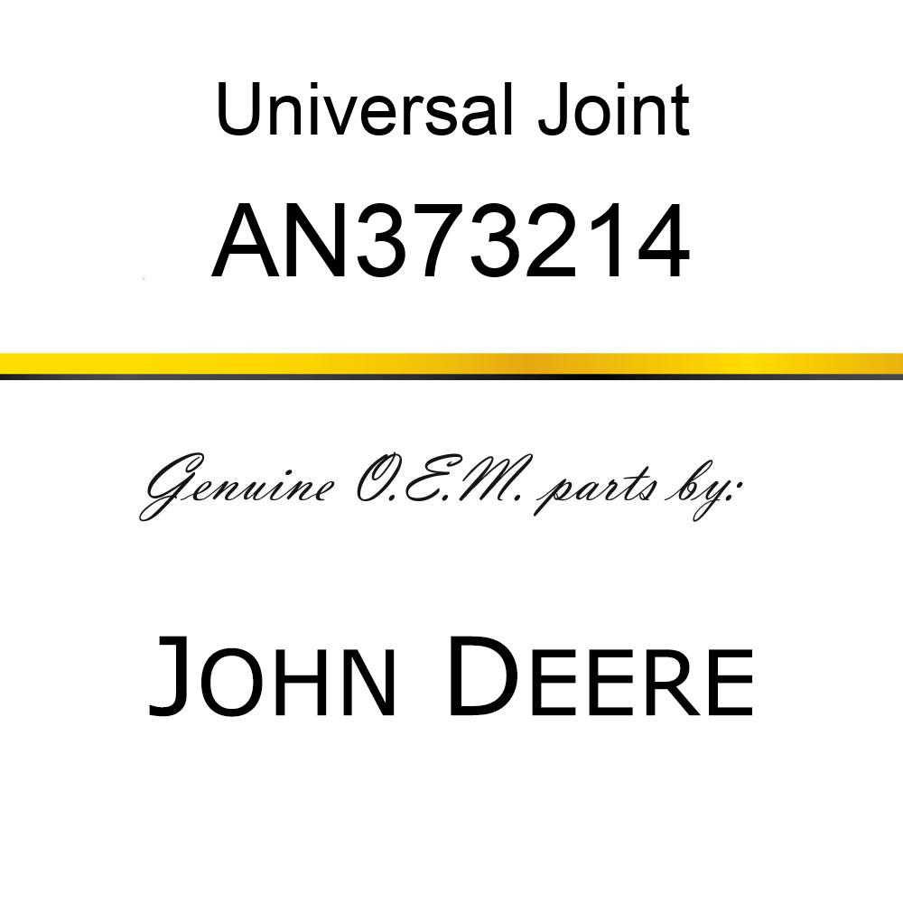 Universal Joint - UNIVERSAL JOINT, HALF-SHAFT, NARROW AN373214