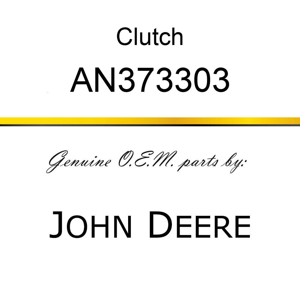 Clutch - CLUTCH, CLUTCH/BRAKE ASSY - WRAP AN373303