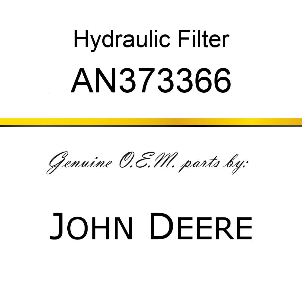 Hydraulic Filter - HYDRAULIC FILTER, FILTER CARTRIDGE AN373366