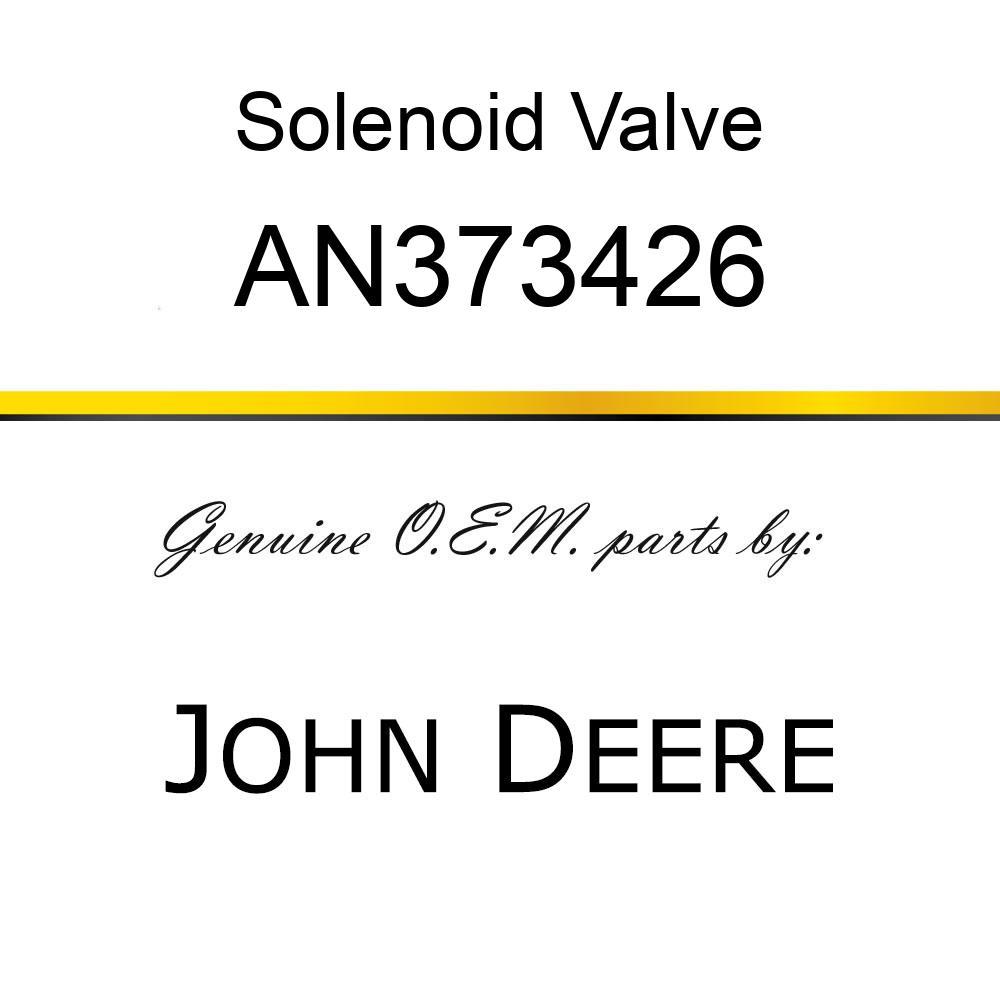 Solenoid Valve - VALVE ASSY, MAIN CONTROL AN373426