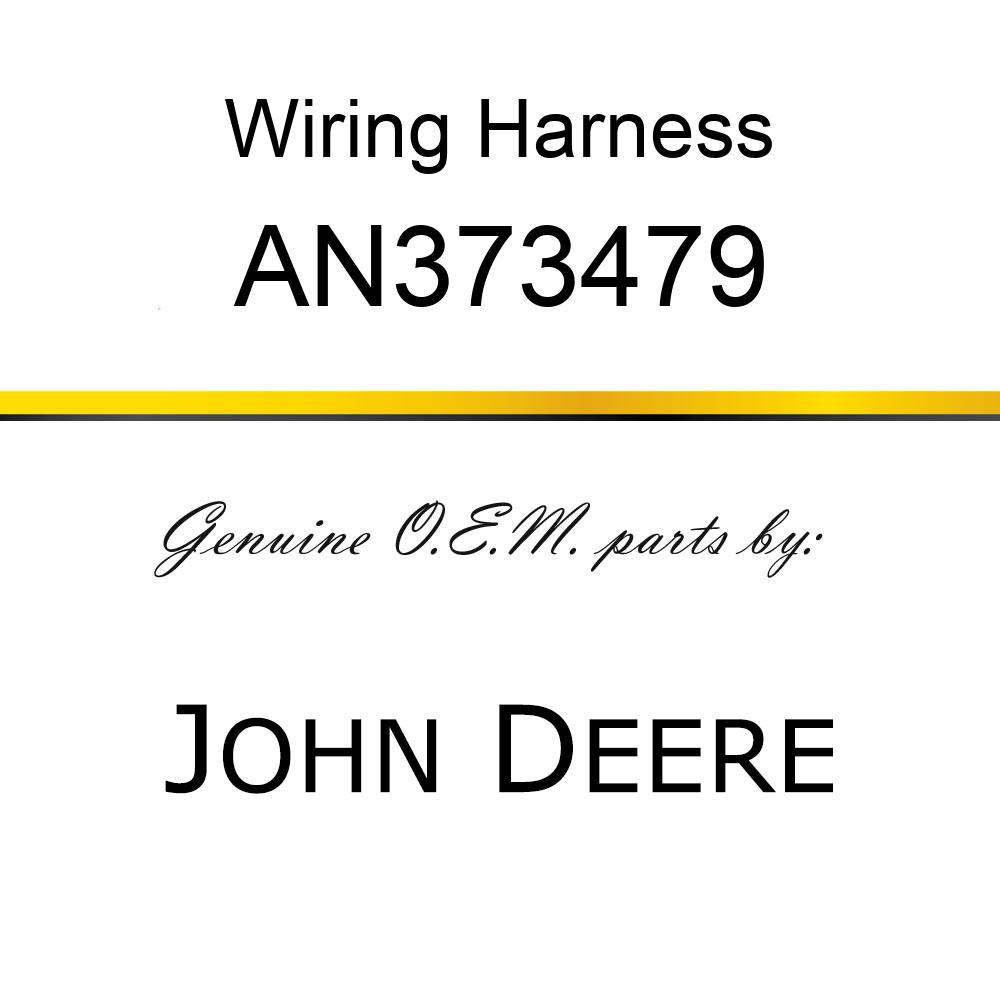 Wiring Harness - HARNESS, 9996 ROW TRAK STD AXLE AN373479